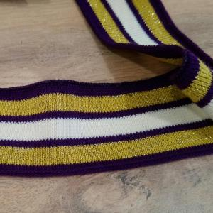 Bande jersey violet 1