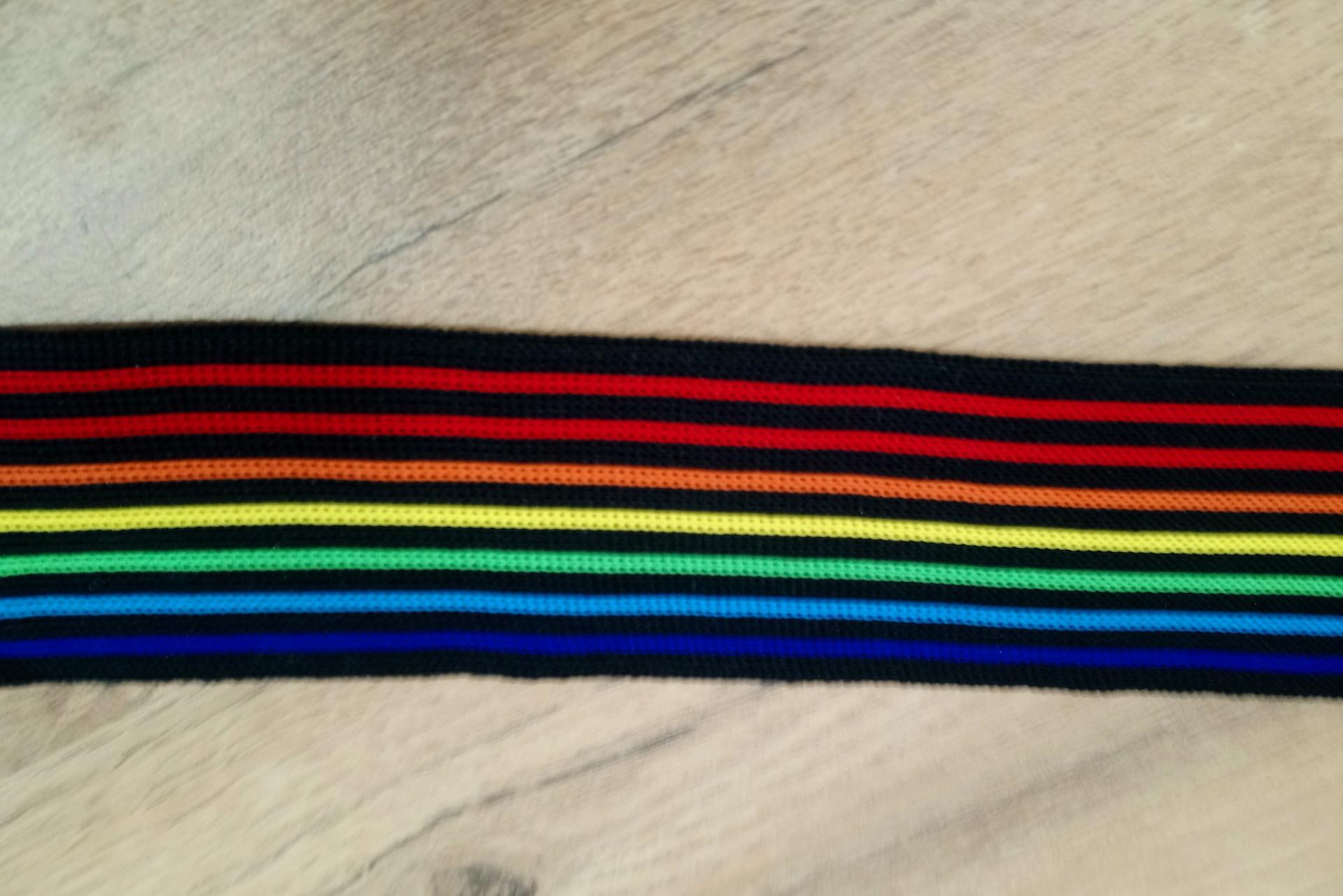Bande multicolor 4 cm 1