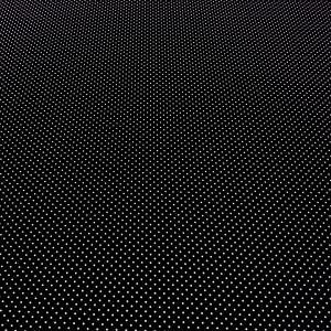 Coton pois noir 2