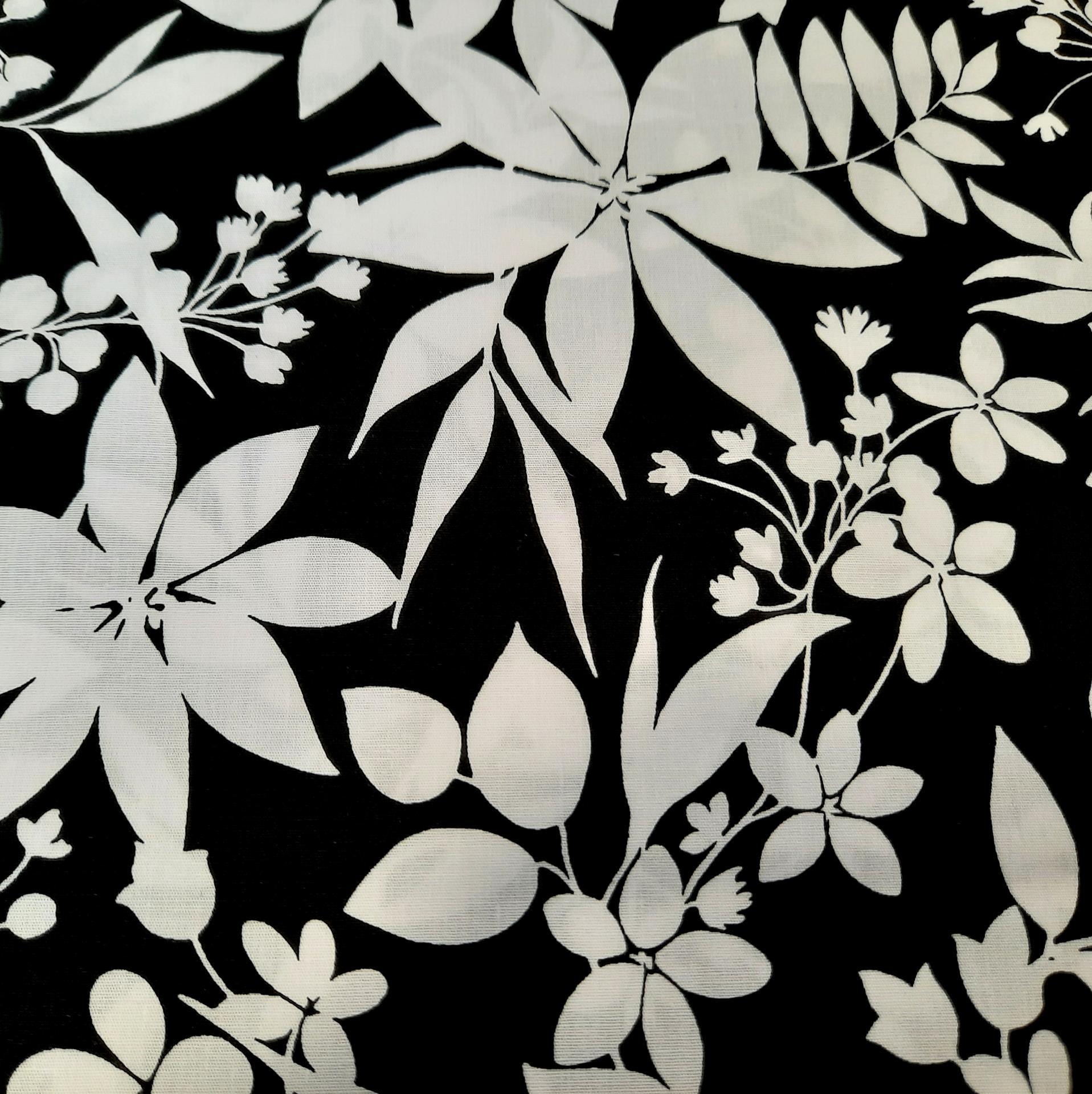 Coton white et black 2