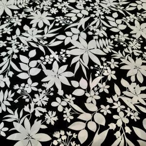 Coton white et black