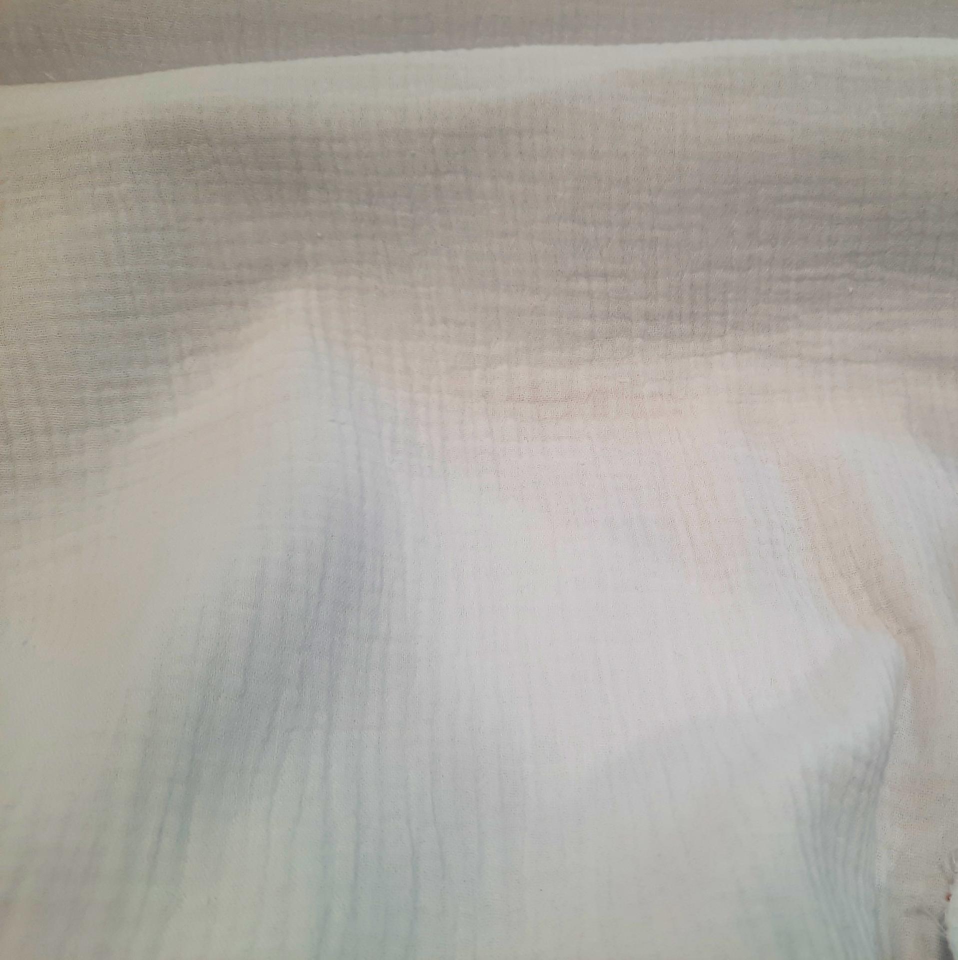 Double gaze blanc 2