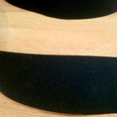 Elastique noir 4 cm