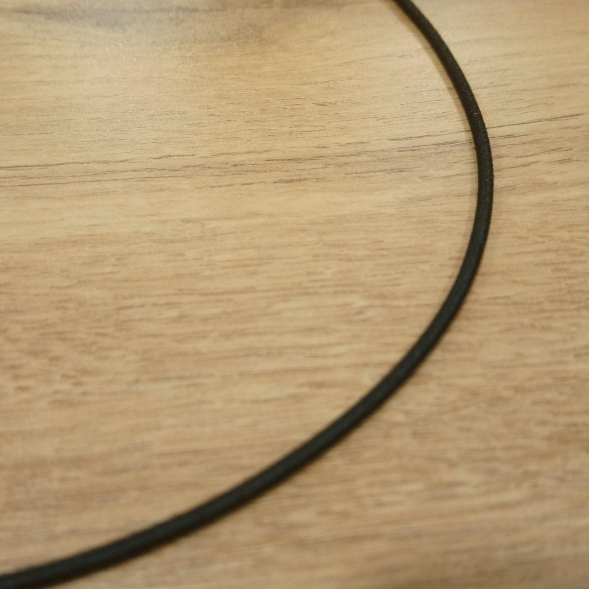 Elastique rond noir