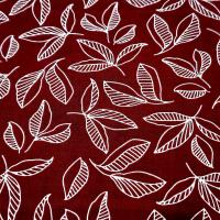 Feuille rouge 1