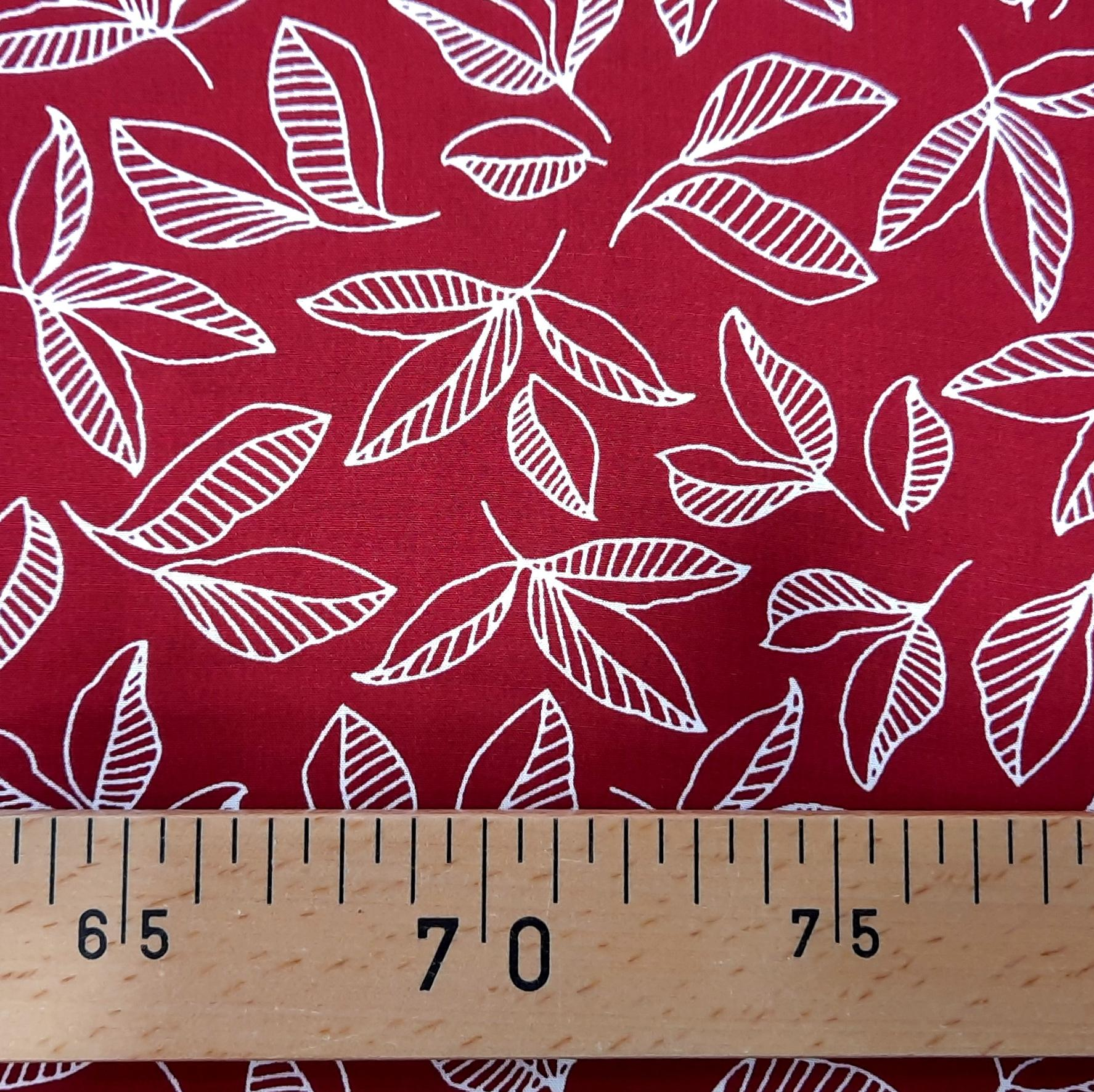 Feuille rouge 3