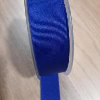 Gros grain bleu fonce 30 mm 1