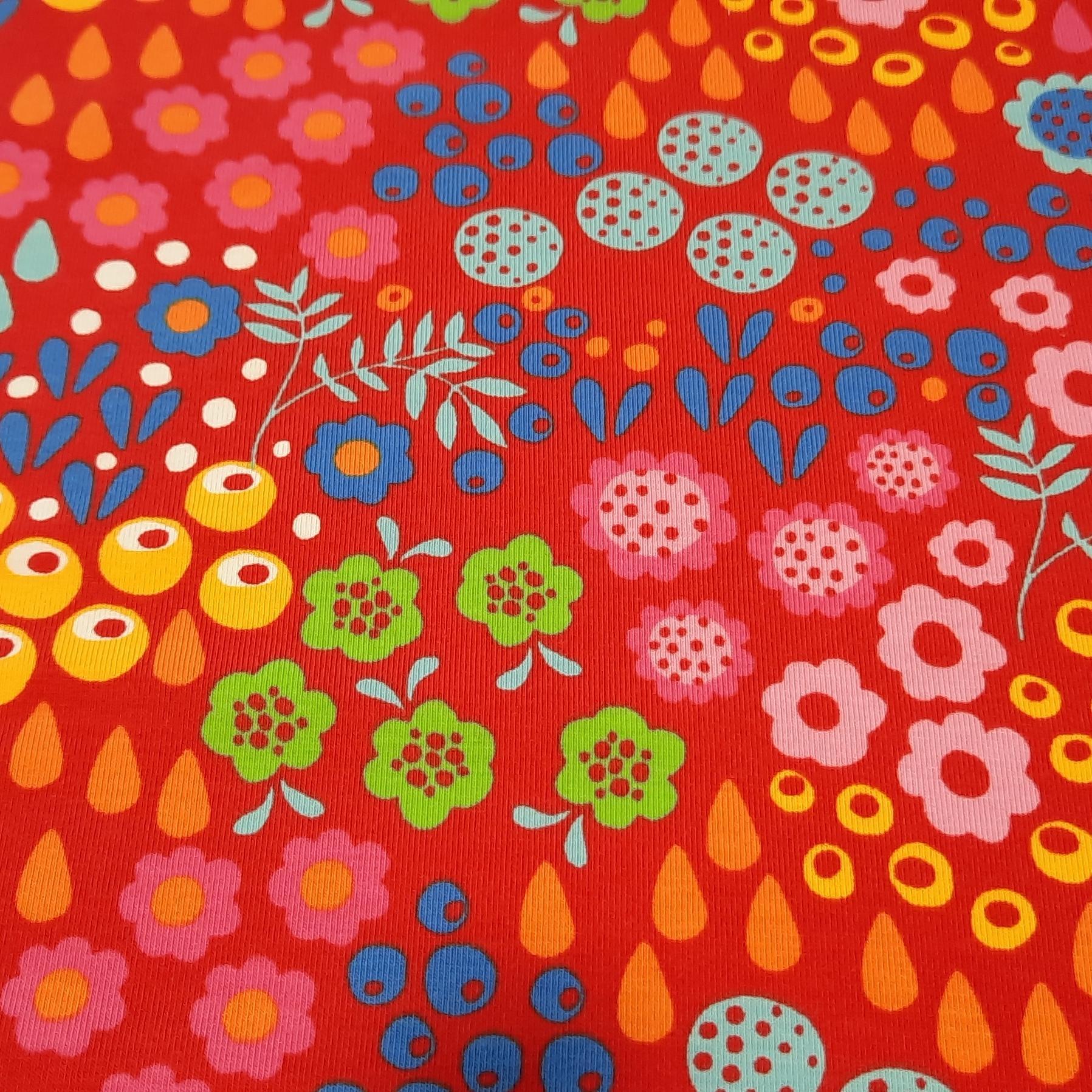 Jersey rouge a motifs 1