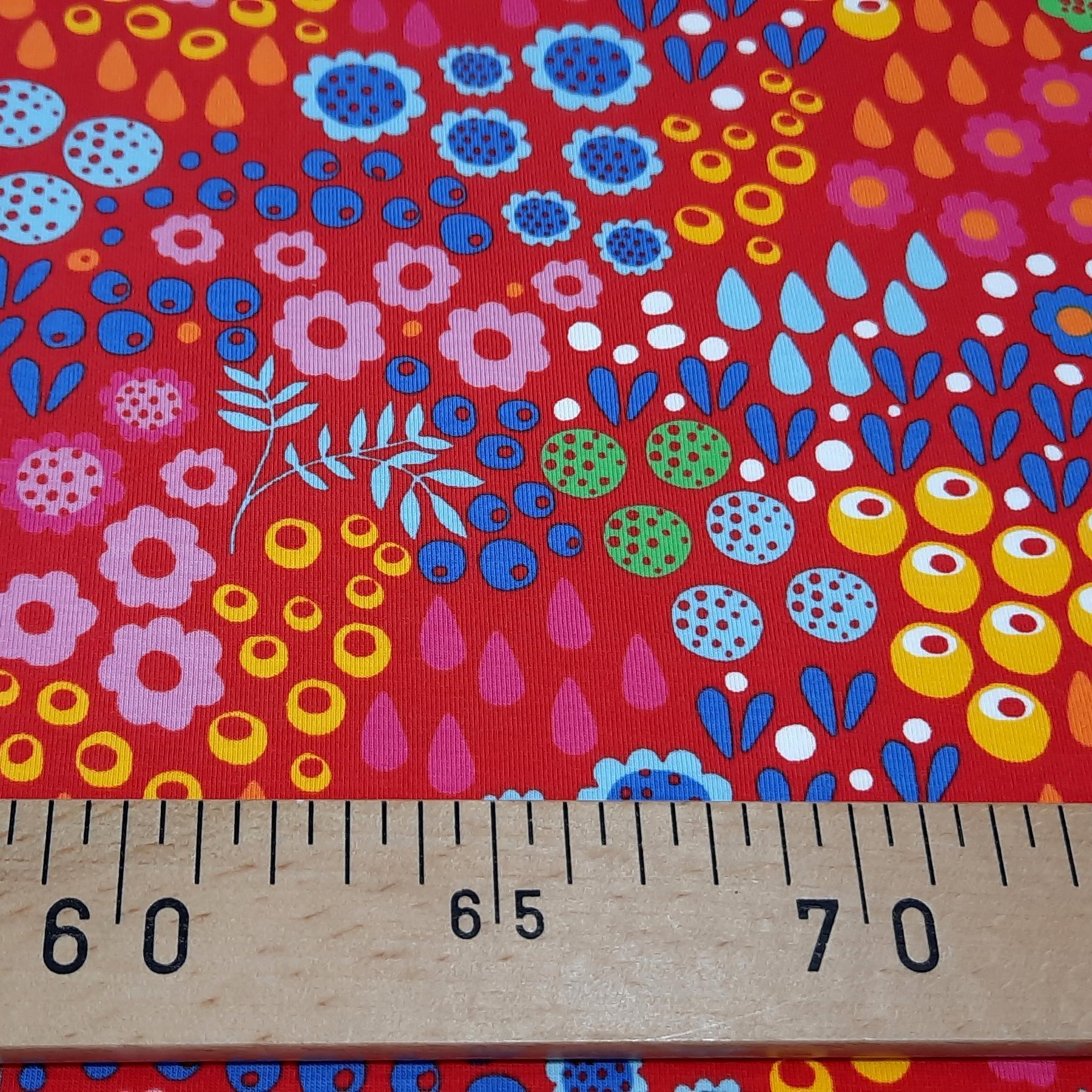 Jersey rouge a motifs 2