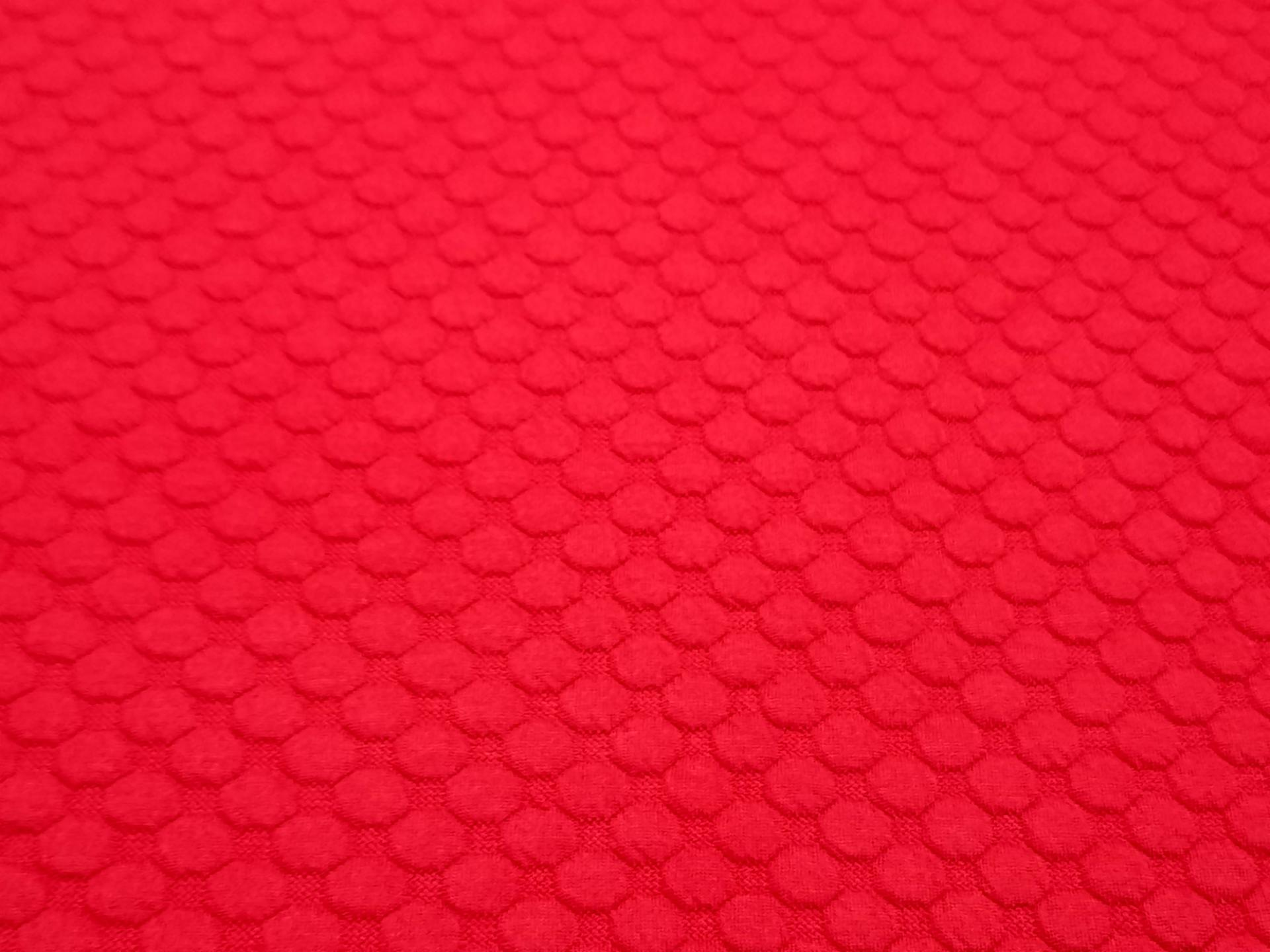Molleton rouge