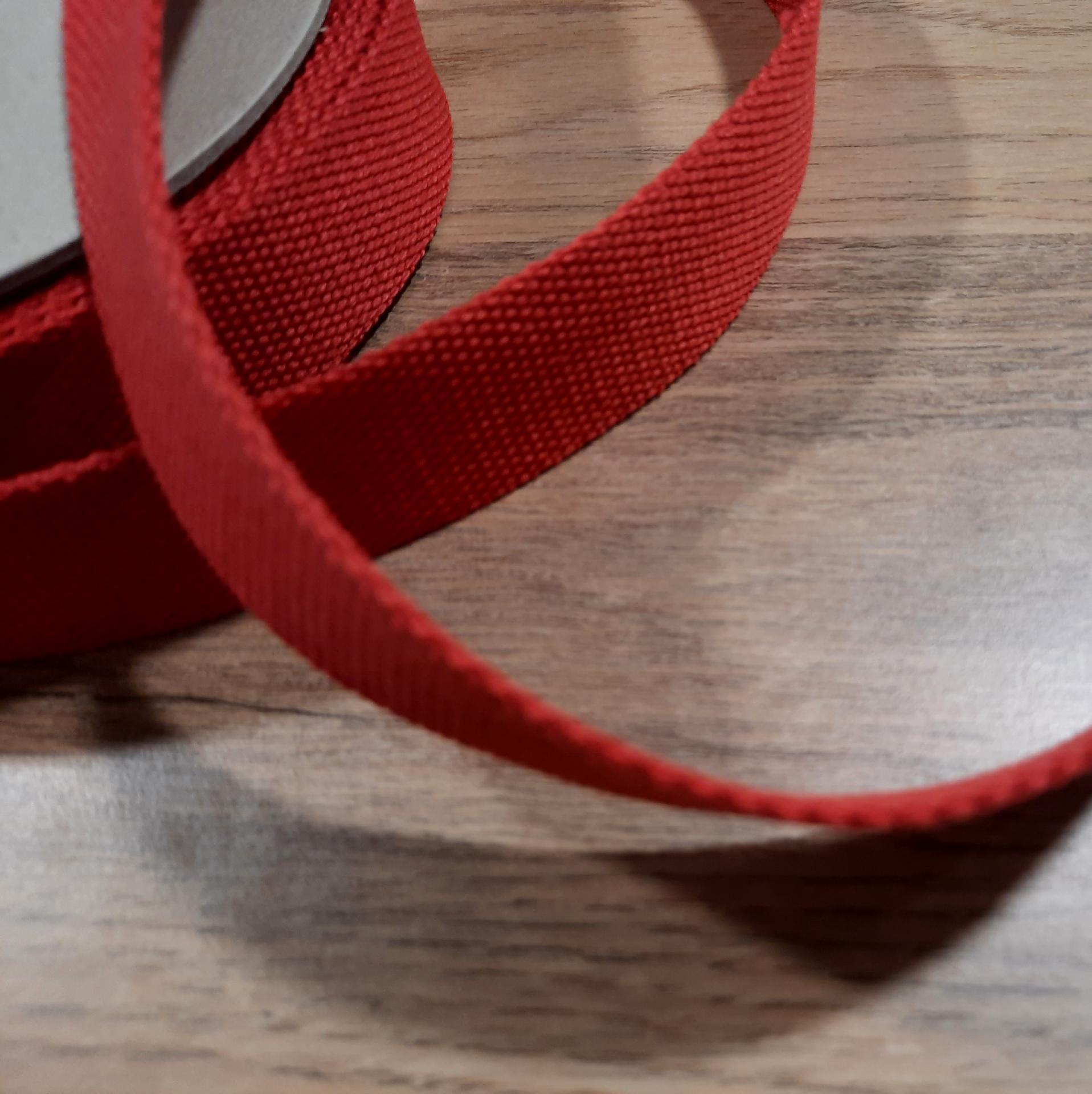 Sangle rouge