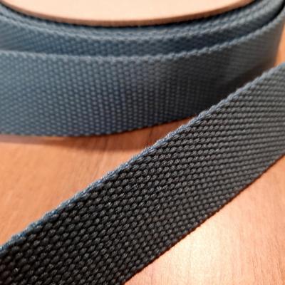 Sangles bleu acier