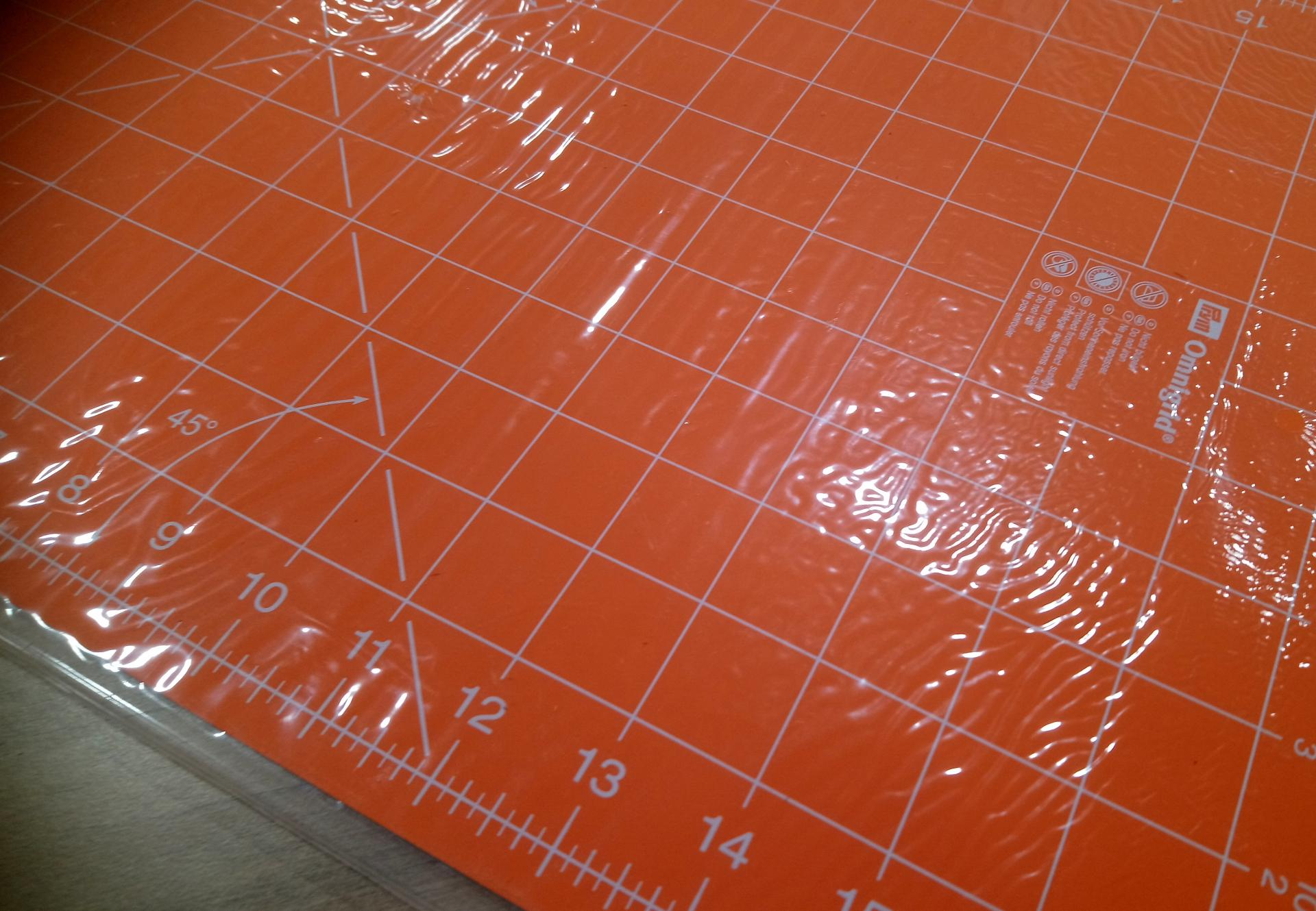 Tapis de decoupe orange 2
