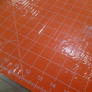 Tapis de decoupe orange 2