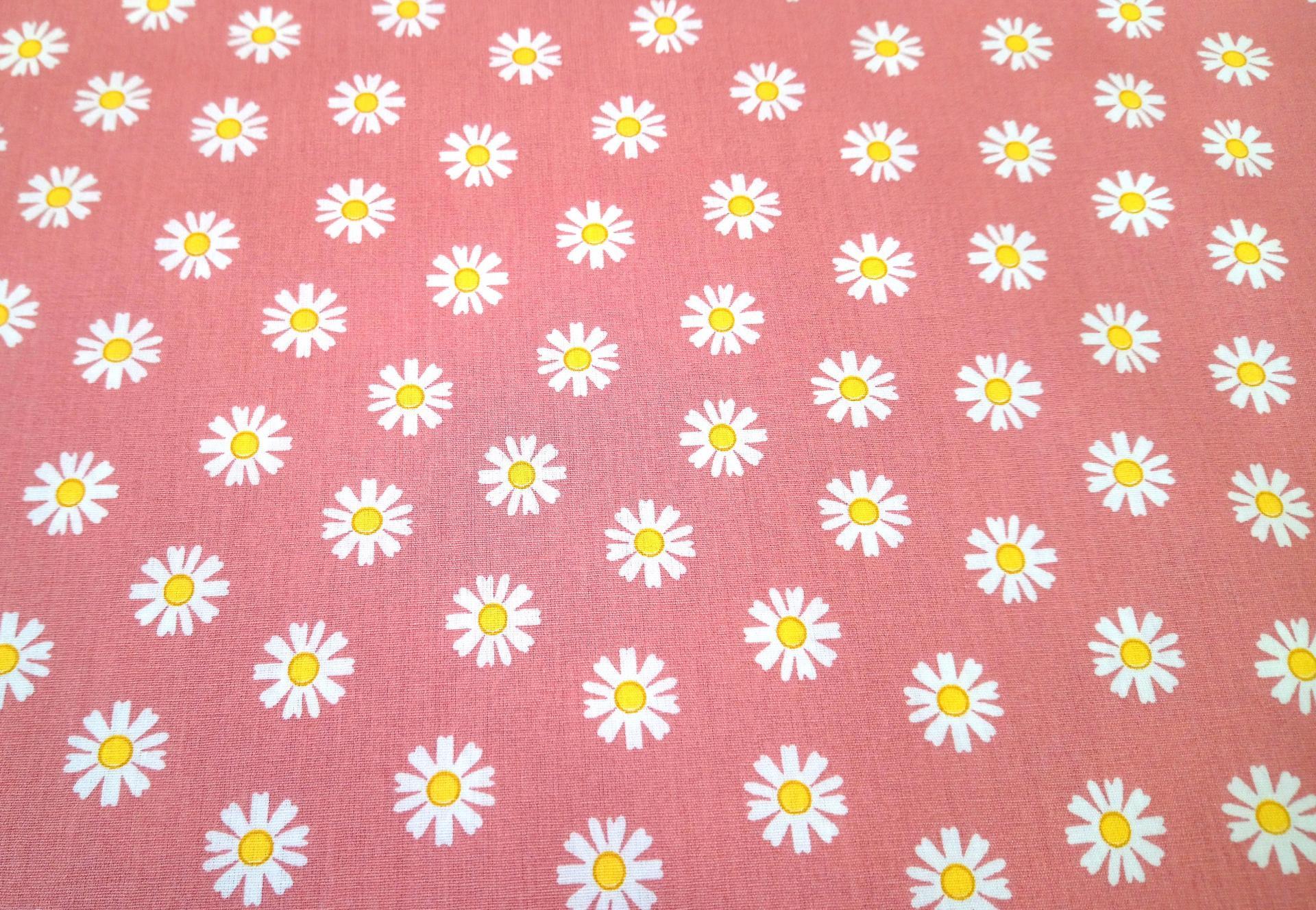 Tissu 7 daisy flower 7 9 c