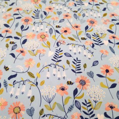 Tissu 8 brushed flower 8 20 a