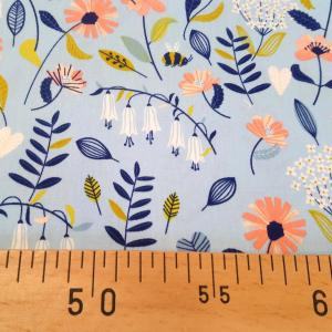 Tissu 8 brushed flower 8 20 b