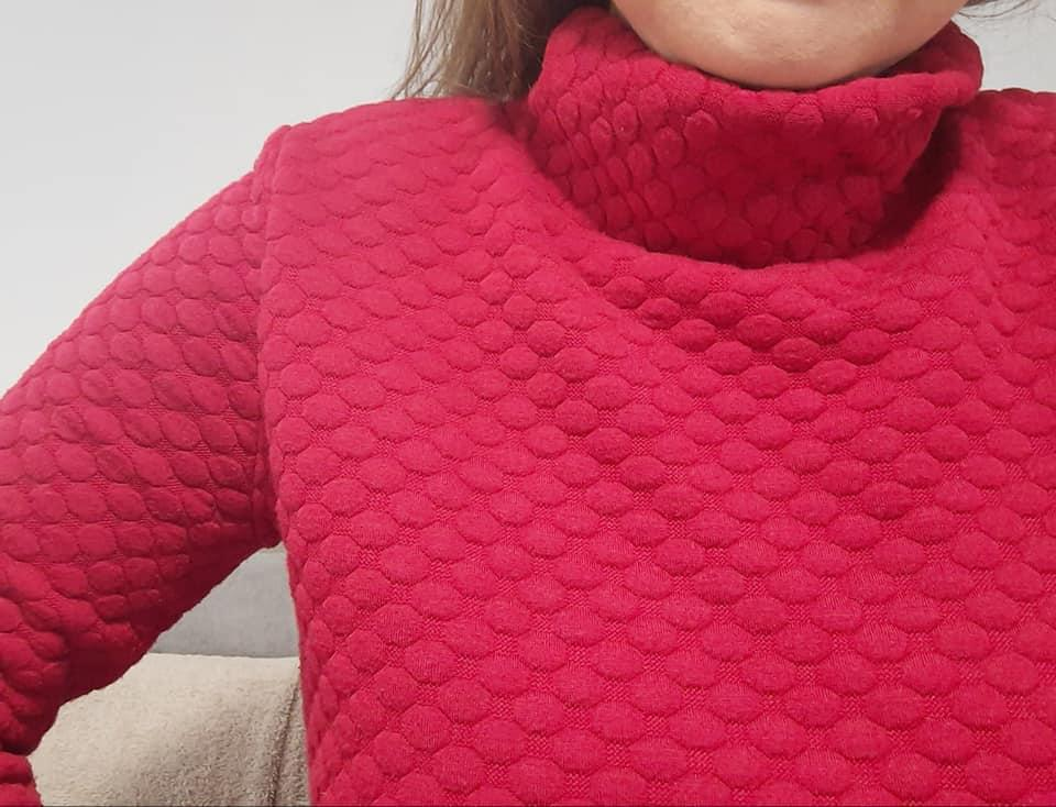 Tricot rouge