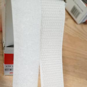 Velcro blanc 2