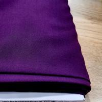 Viscose dark purple