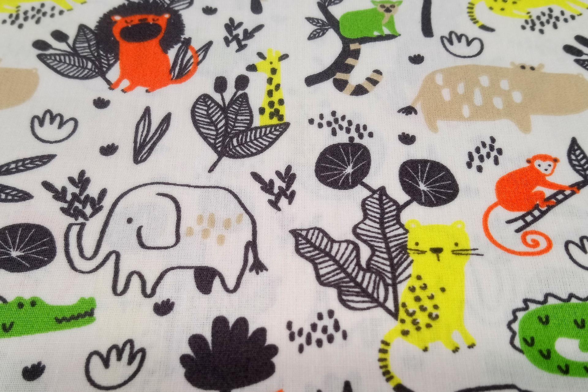 Wild animals 2 coton
