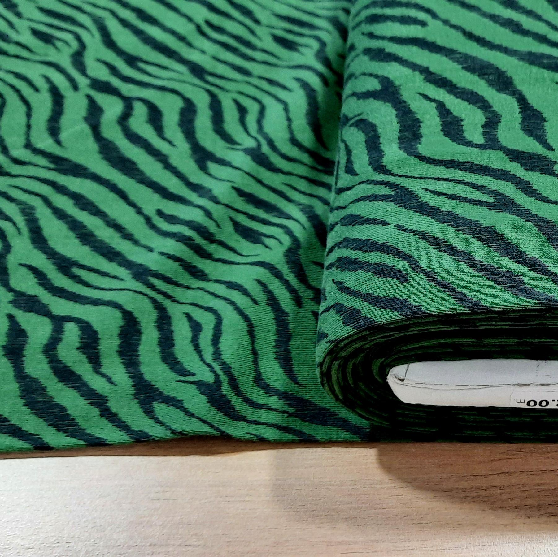Zebra vert 2